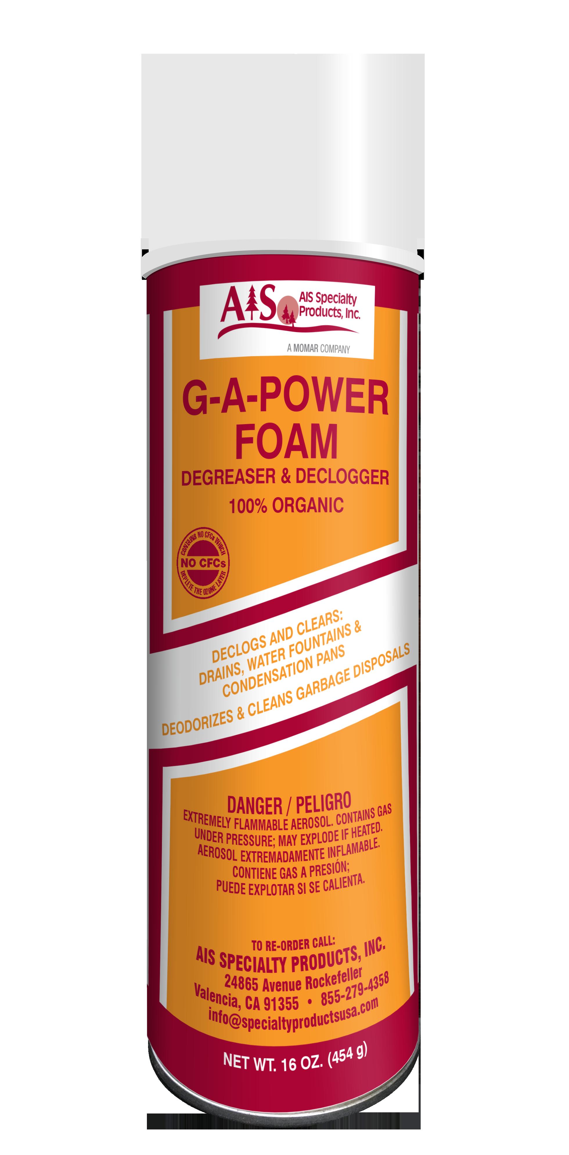 AIS G-A-POWER FOAM AEROSOL