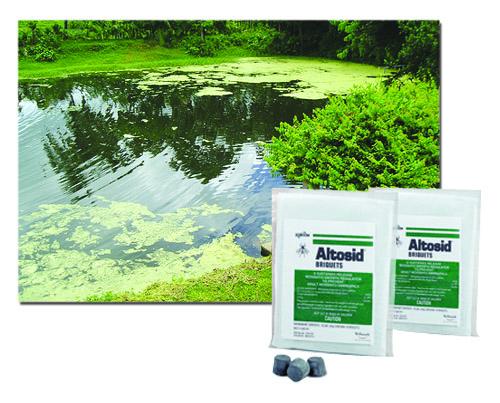 ALTOSID BRIQUETS - Mosquito Growth Regulator Briquets