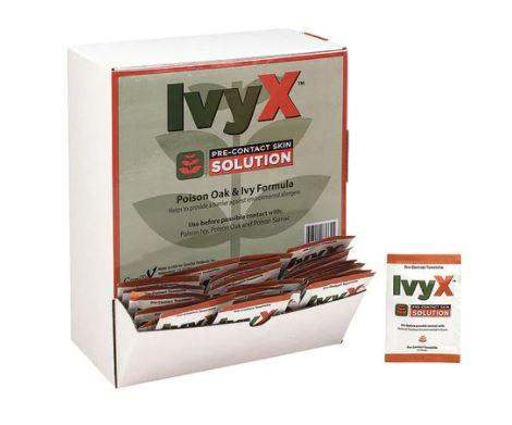 IVY X PRE-CONTACT POISON OAK & IVY BARRIER TOWELETTES