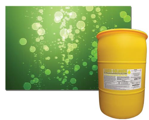 LIQUID CHLORINE - Hyper-Concentrated Liquid Chlorine Bleaching Additive