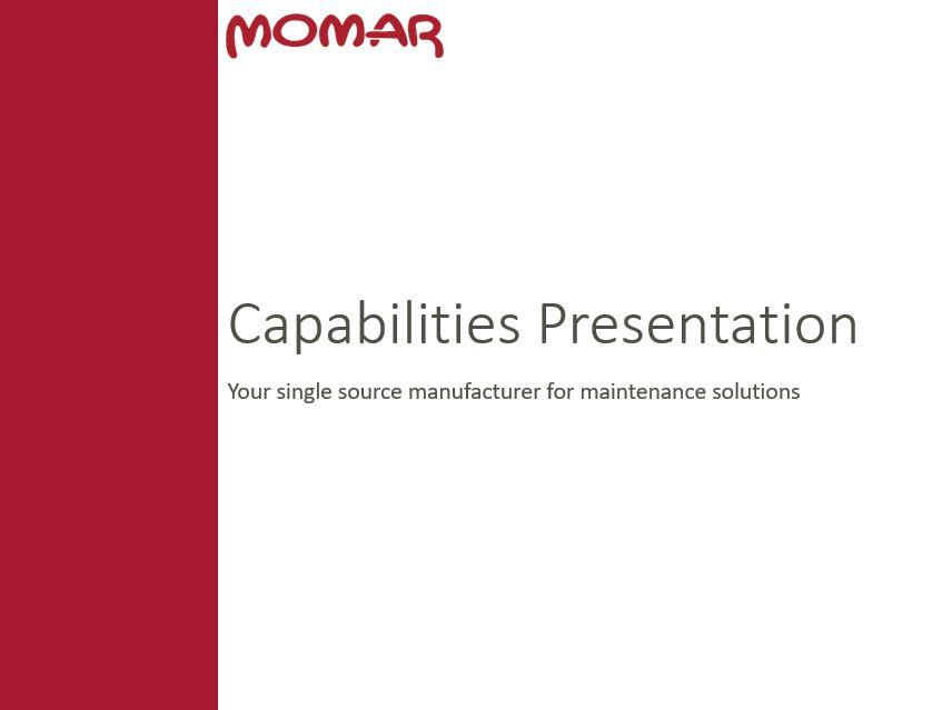 MOMAR CAPABILITIES PRESENTATION