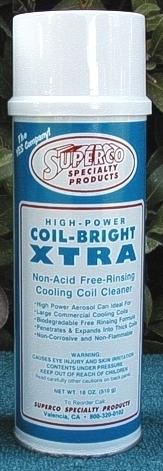 SUPERCO COIL BRIGHT XTRA AEROSOL