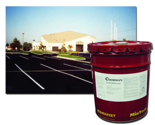OBSIDIAN - Water-Based Asphalt Pavement Sealer