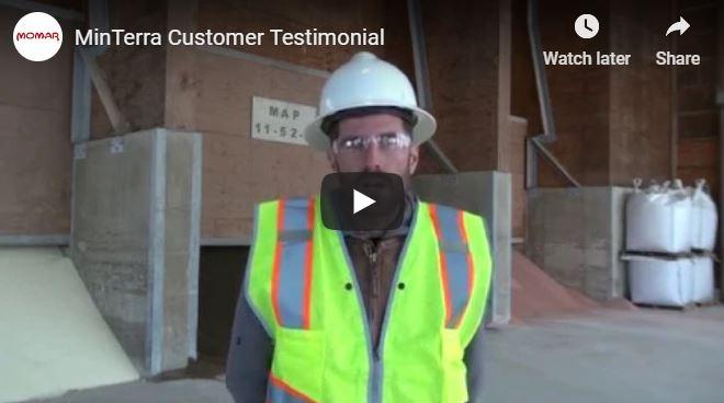 MinTerra Customer Testimonials