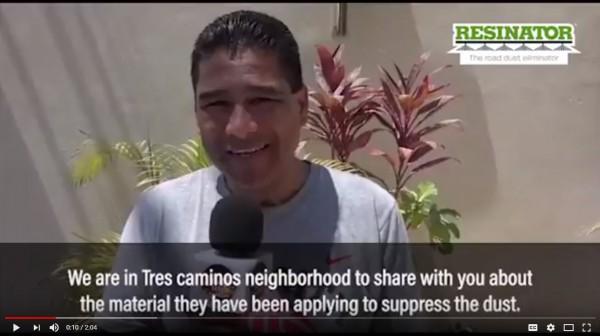 Resinator - Honduras Testimonial
