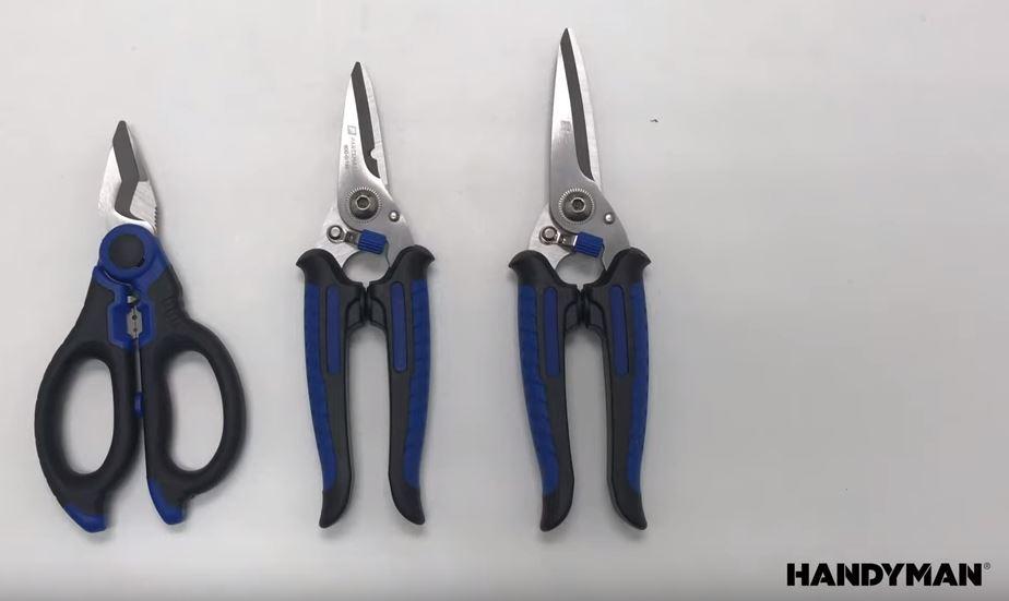 Handyman Ergo Kut, Strip, and Crimp Snips
