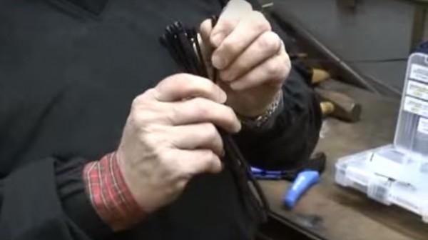 "SAFE-TYâ""¢ Low Profile Cable Ties [Handyman Demo]"