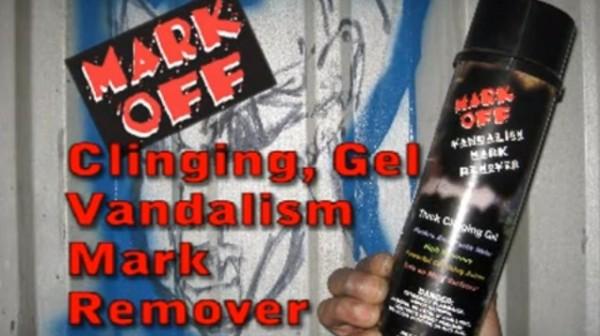 Mark Off Aerosol - Clinging Gel Vandalism Mark Remover