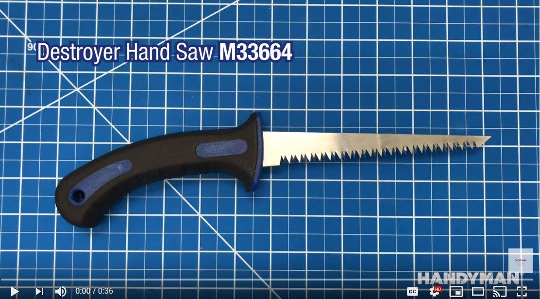 Handyman Destroyer Hand Saw